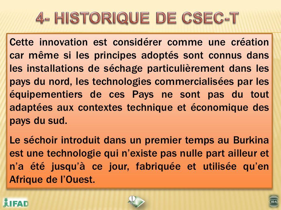 4- HISTORIQUE DE CSEC-T