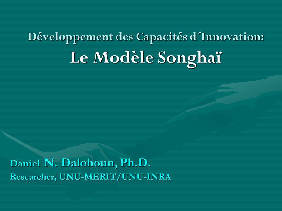 Développement des Capacités d´Innovation: Le Modèle Songhaï