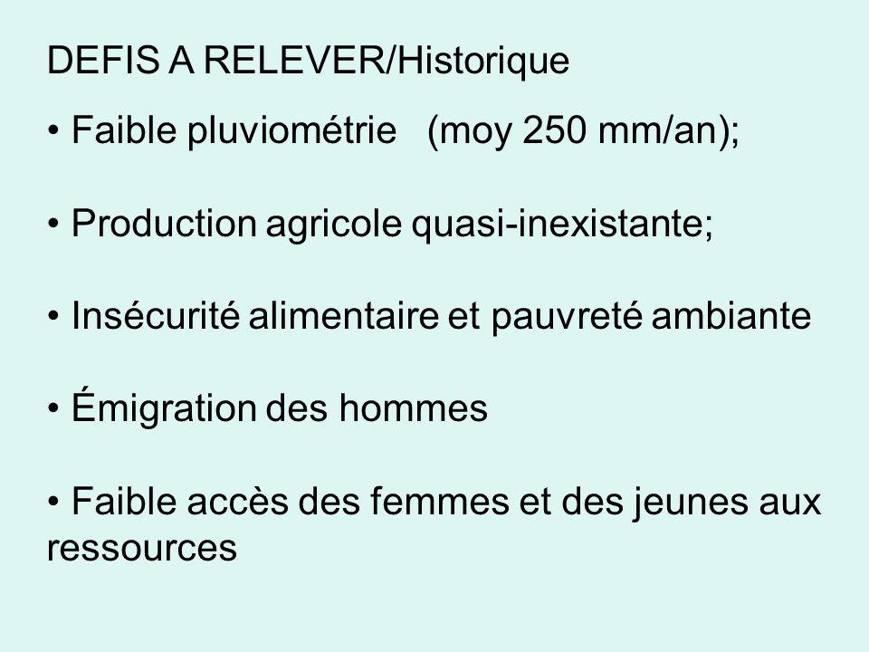 DEFIS A RELEVER/Historique