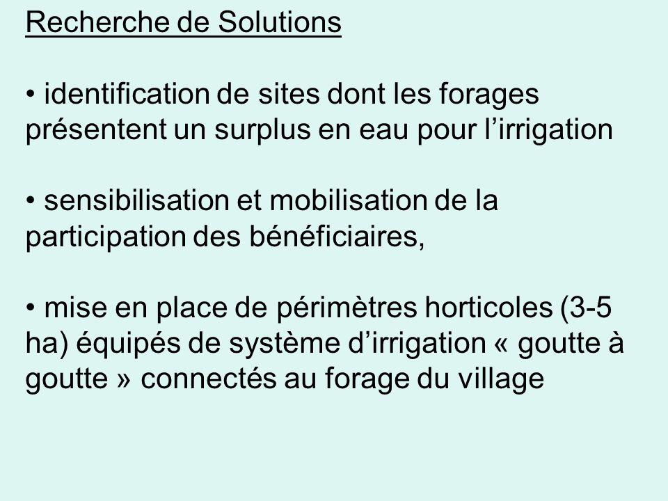 Recherche de Solutions