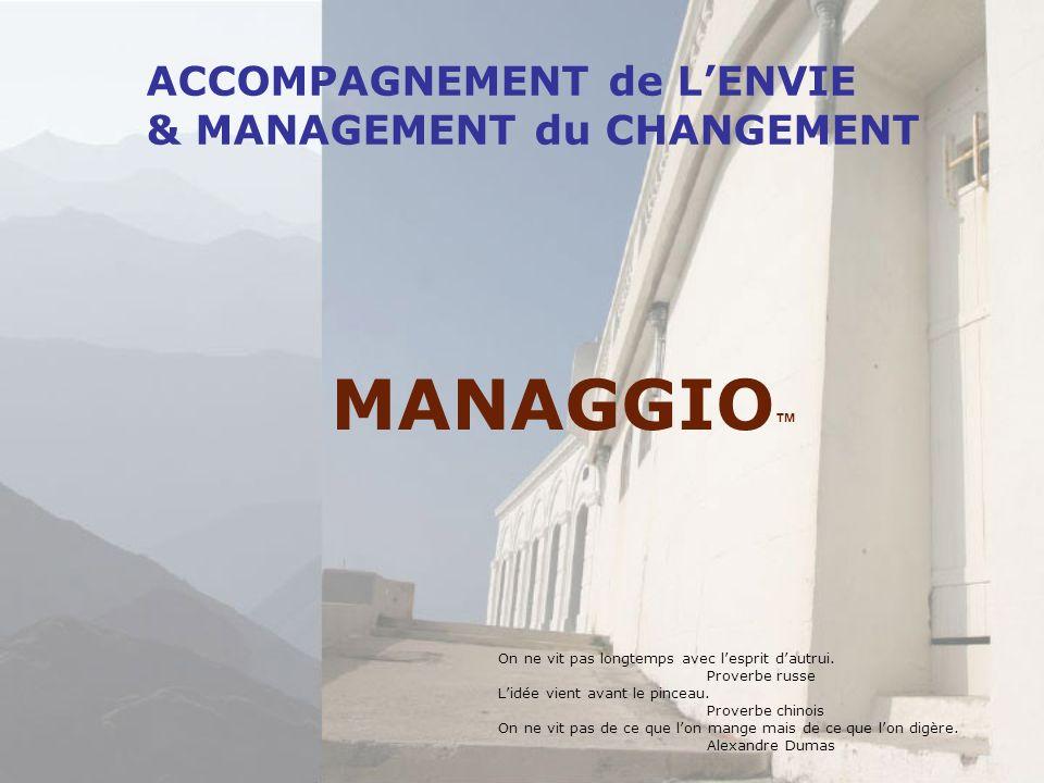 MANAGGIO™ ACCOMPAGNEMENT de L'ENVIE & MANAGEMENT du CHANGEMENT