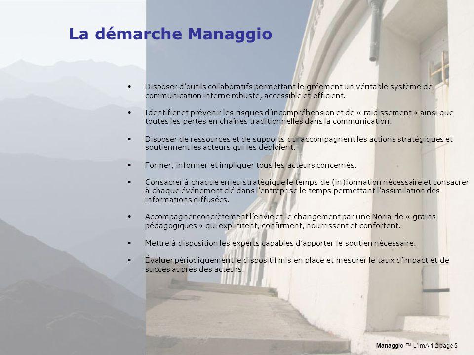 La démarche Managgio