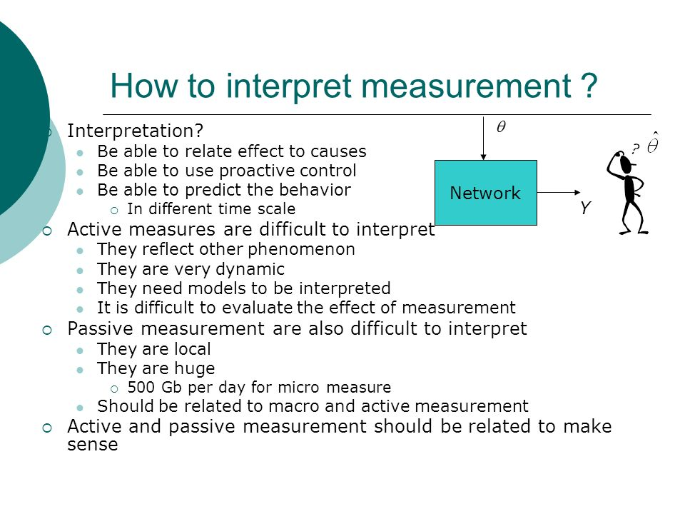 How to interpret measurement