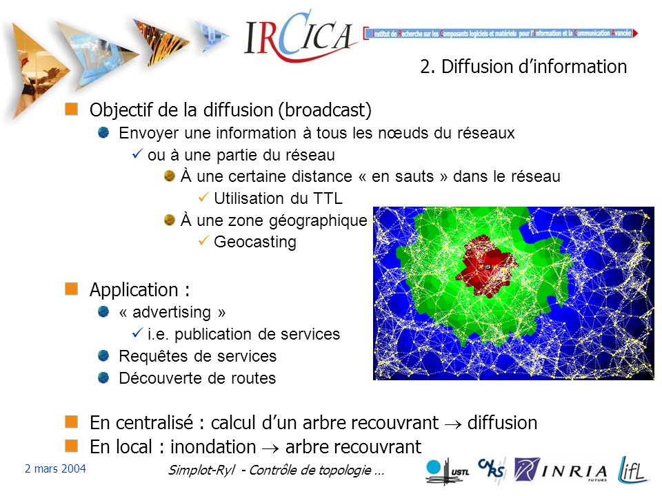 2. Diffusion d'information
