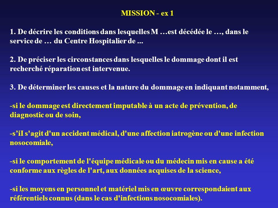MISSION - ex 1 1.