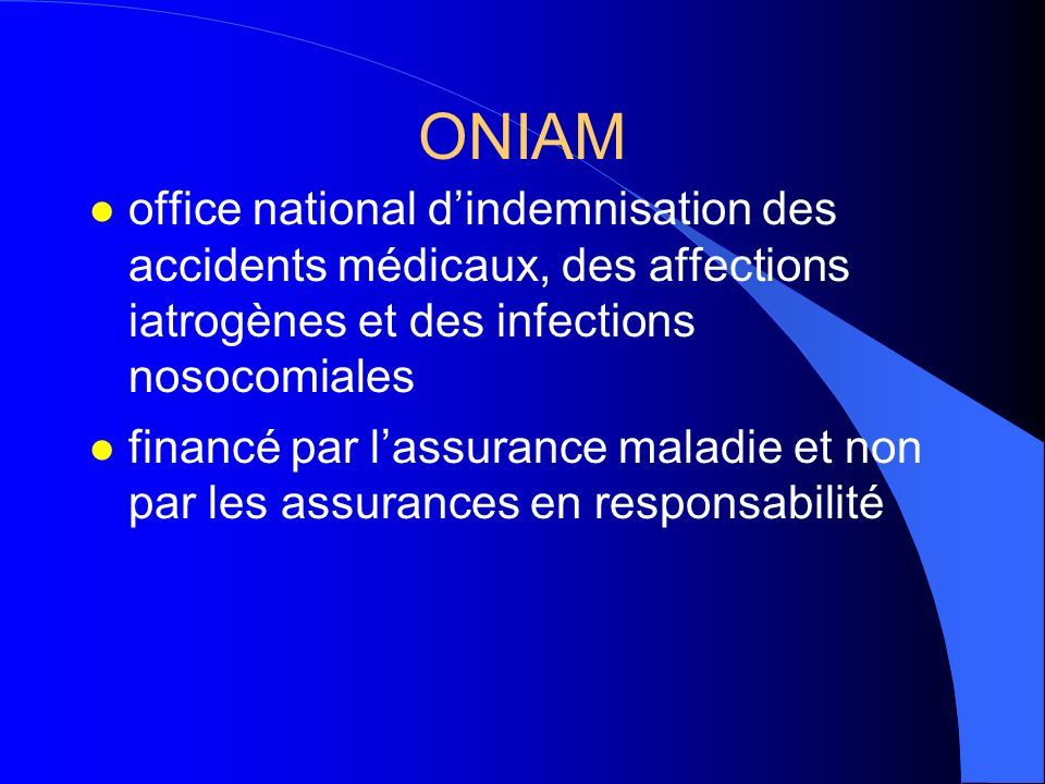 Fonctionnement des crci loi du 4 mars ppt t l charger - Office national d indemnisation des accidents medicaux ...