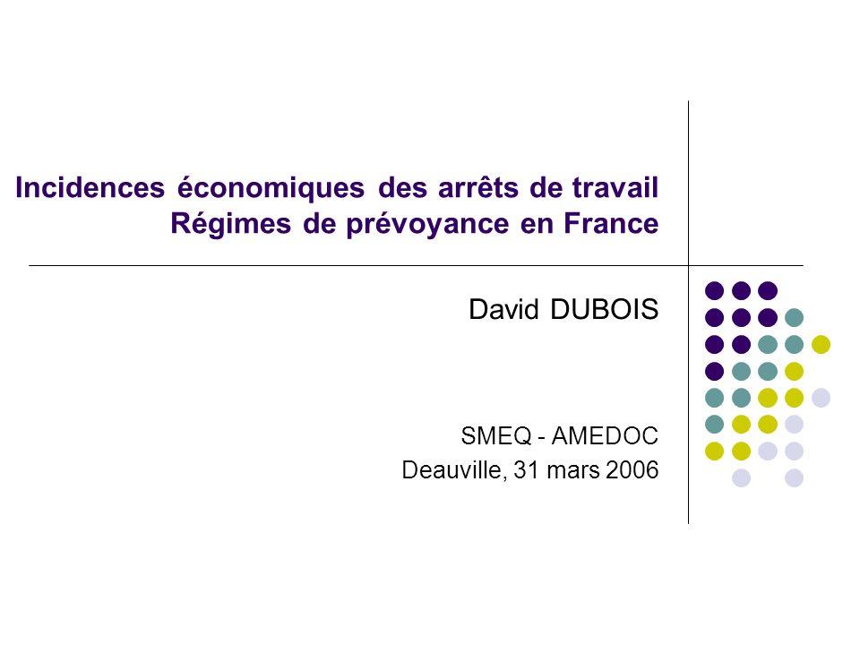 David DUBOIS SMEQ - AMEDOC Deauville, 31 mars 2006