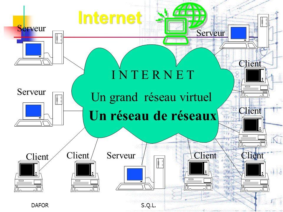 Un grand réseau virtuel
