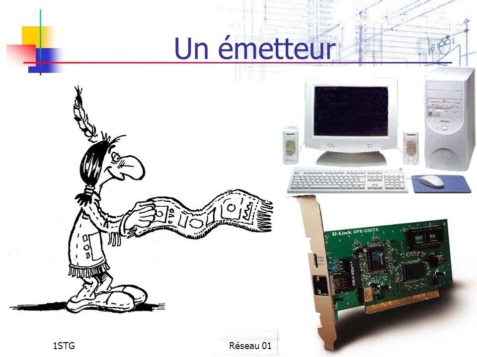Un émetteur 1STG Réseau 01