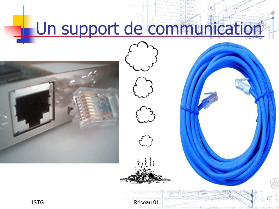 Un support de communication