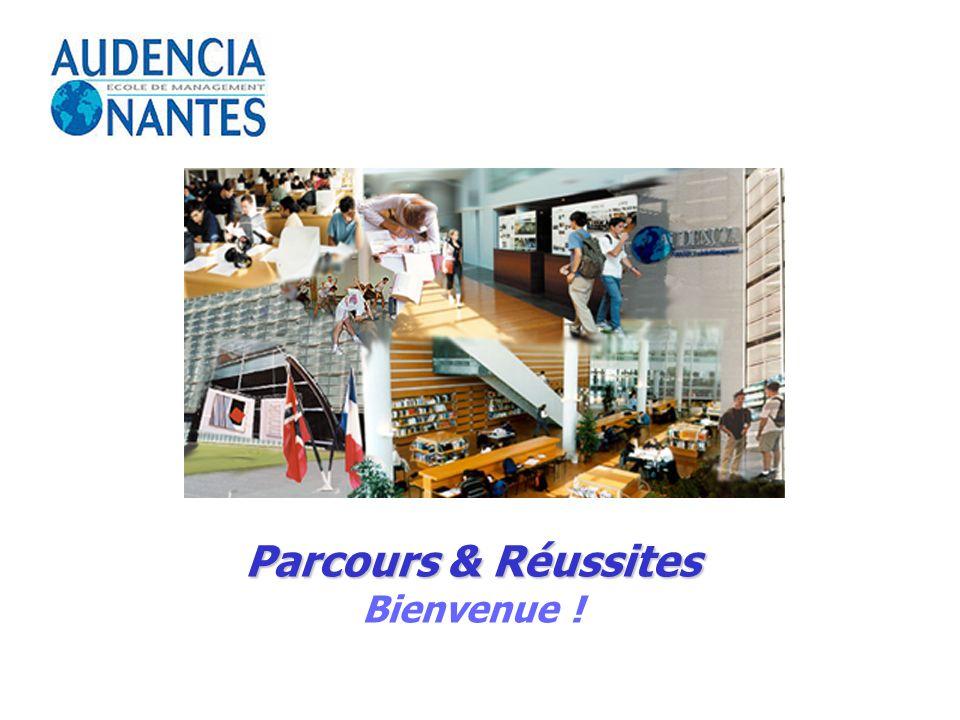 Parcours & Réussites Bienvenue !