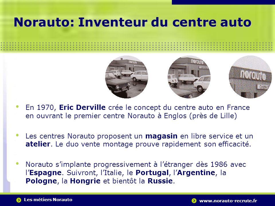 Norauto: Inventeur du centre auto