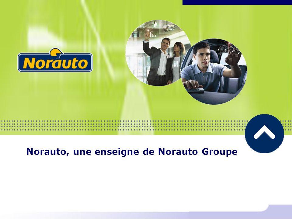 Norauto, une enseigne de Norauto Groupe