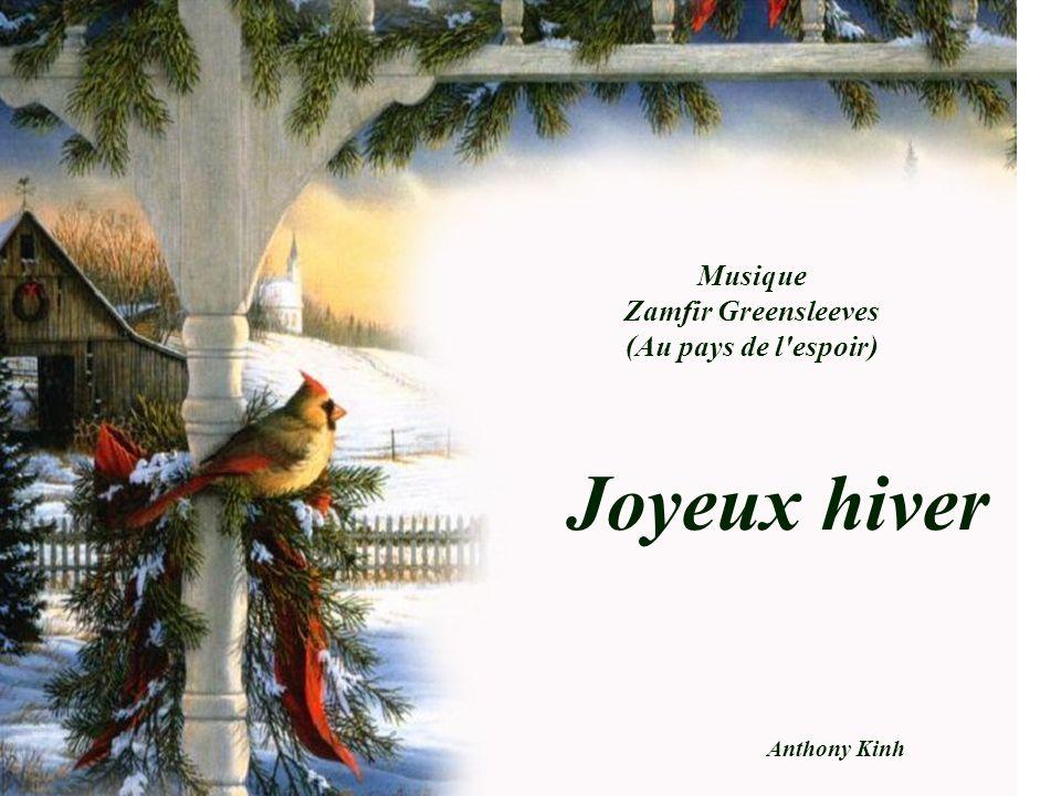Joyeux hiver Musique Zamfir Greensleeves (Au pays de l espoir)
