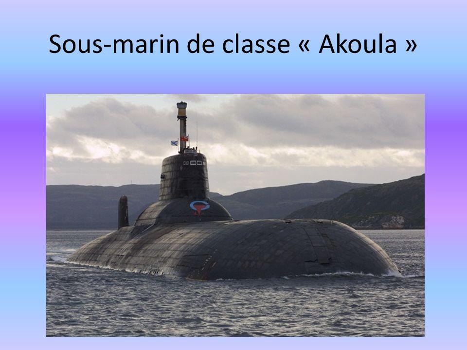 Sous-marin de classe « Akoula »