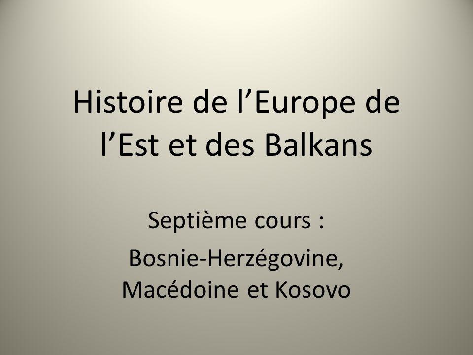 Histoire de l'Europe de l'Est et des Balkans