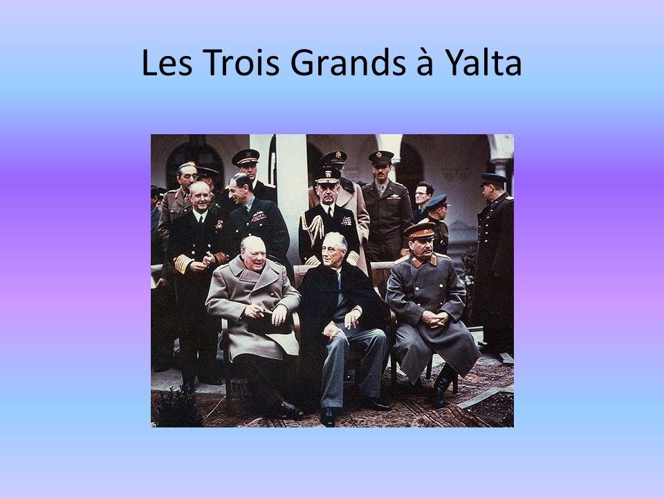 Les Trois Grands à Yalta