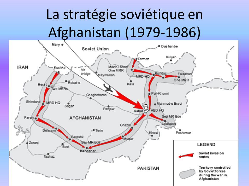 La stratégie soviétique en Afghanistan (1979-1986)