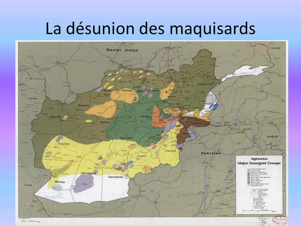 La désunion des maquisards