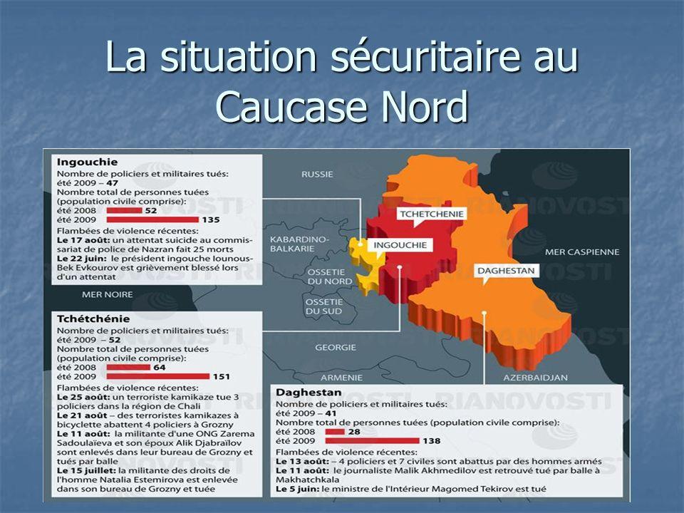 La situation sécuritaire au Caucase Nord