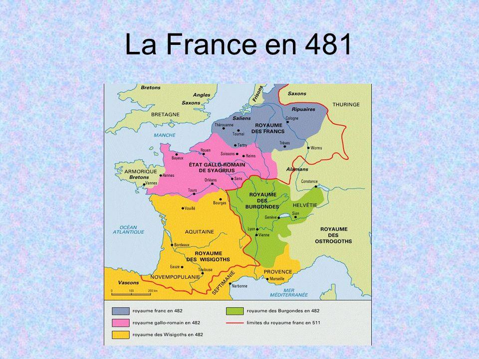 La France en 481