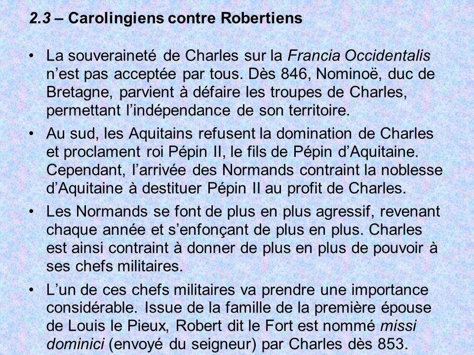 2.3 – Carolingiens contre Robertiens