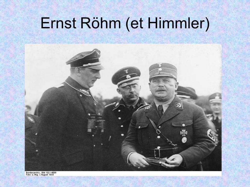 Ernst Röhm (et Himmler)