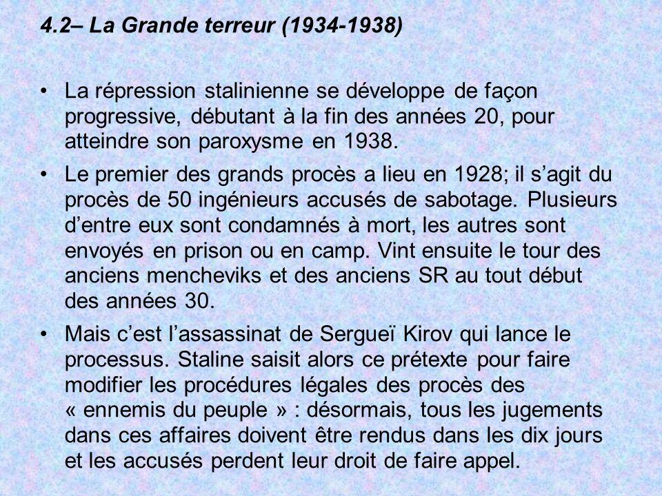 4.2– La Grande terreur (1934-1938)