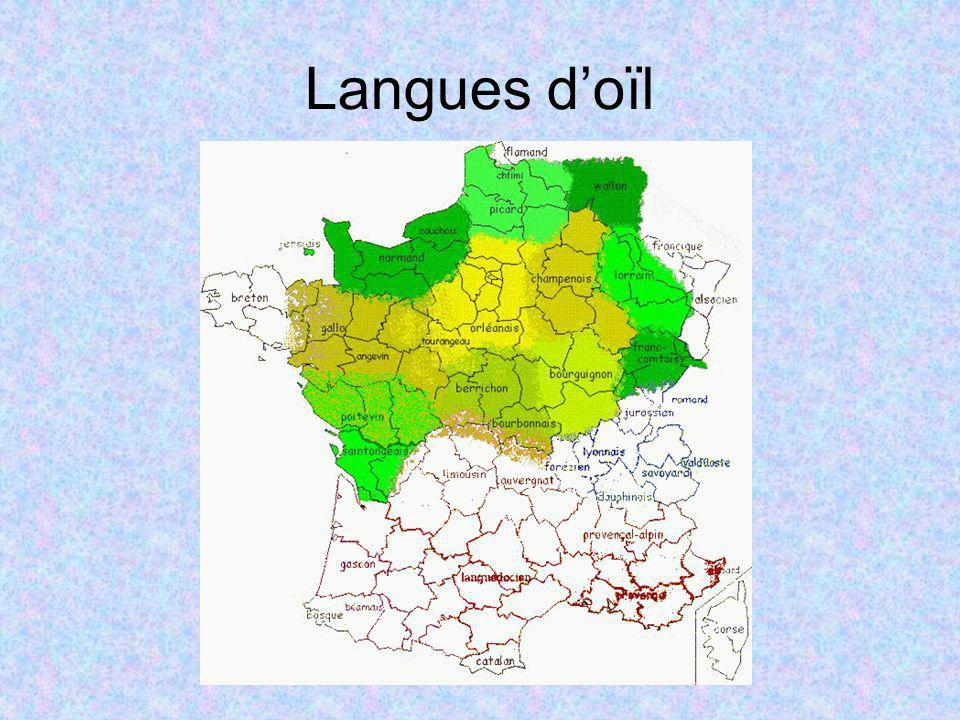 Langues d'oïl