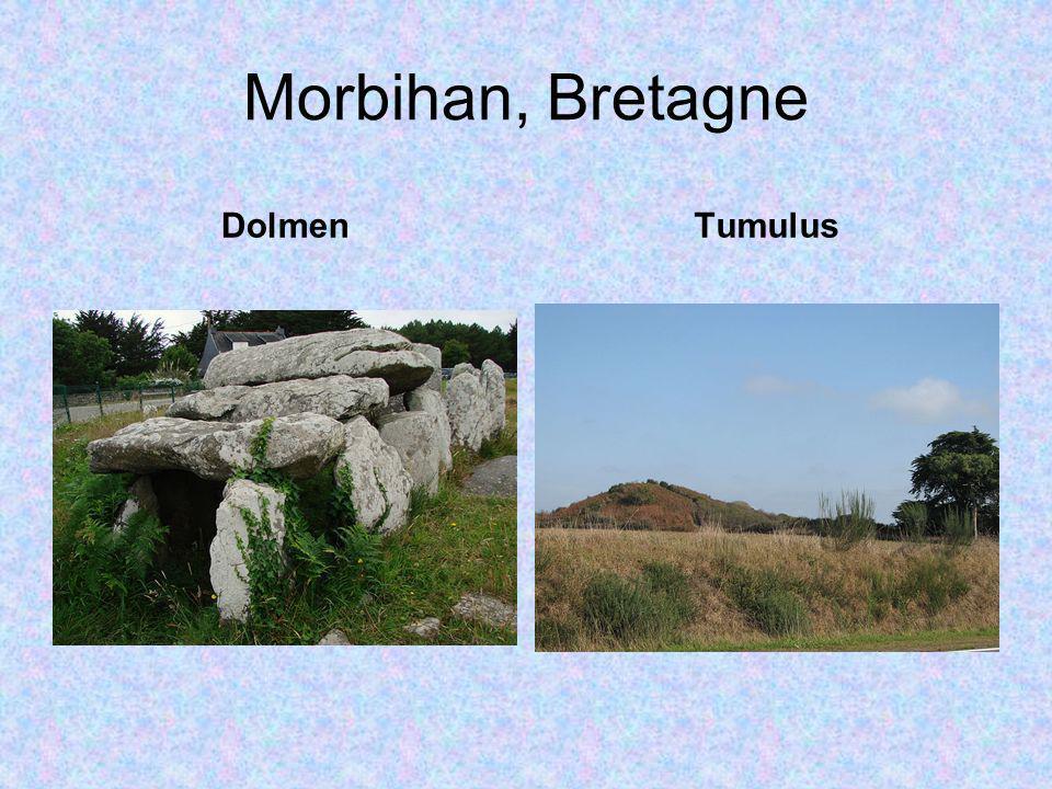Morbihan, Bretagne Dolmen Tumulus
