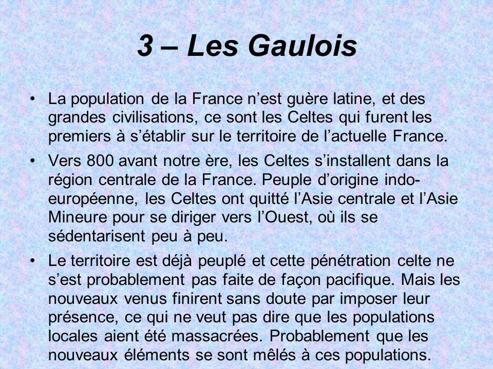 3 – Les Gaulois