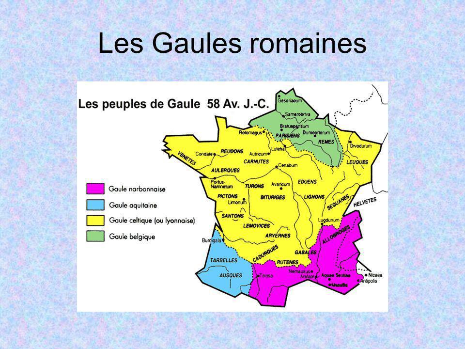 Les Gaules romaines