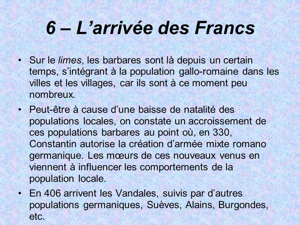 6 – L'arrivée des Francs