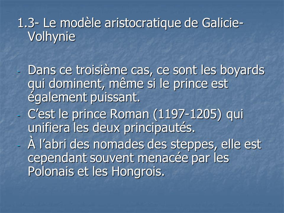 1.3- Le modèle aristocratique de Galicie-Volhynie