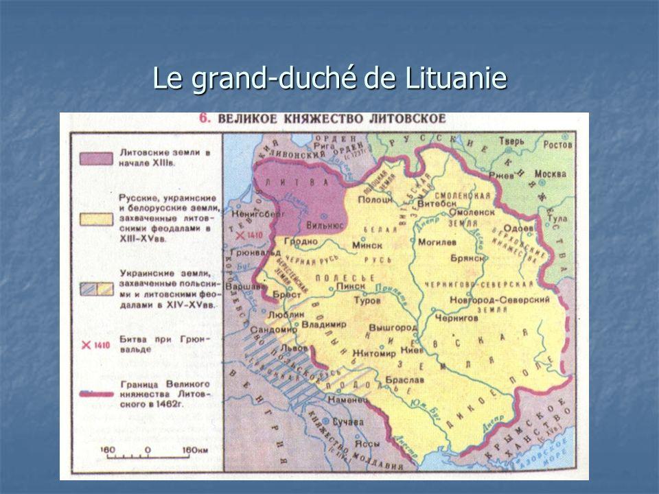 Le grand-duché de Lituanie