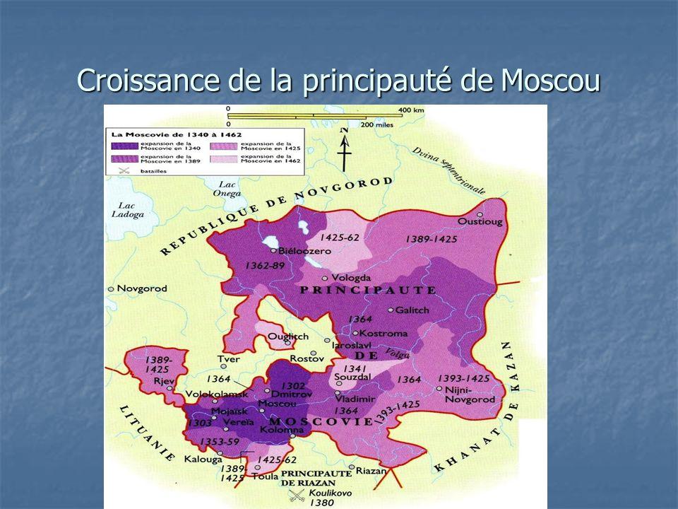Croissance de la principauté de Moscou