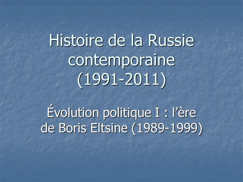 Histoire de la Russie contemporaine (1991-2011)