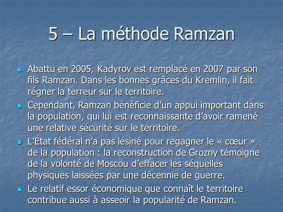 5 – La méthode Ramzan