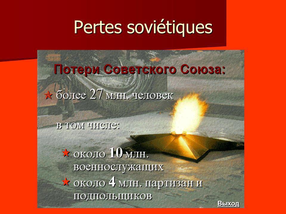 Pertes soviétiques