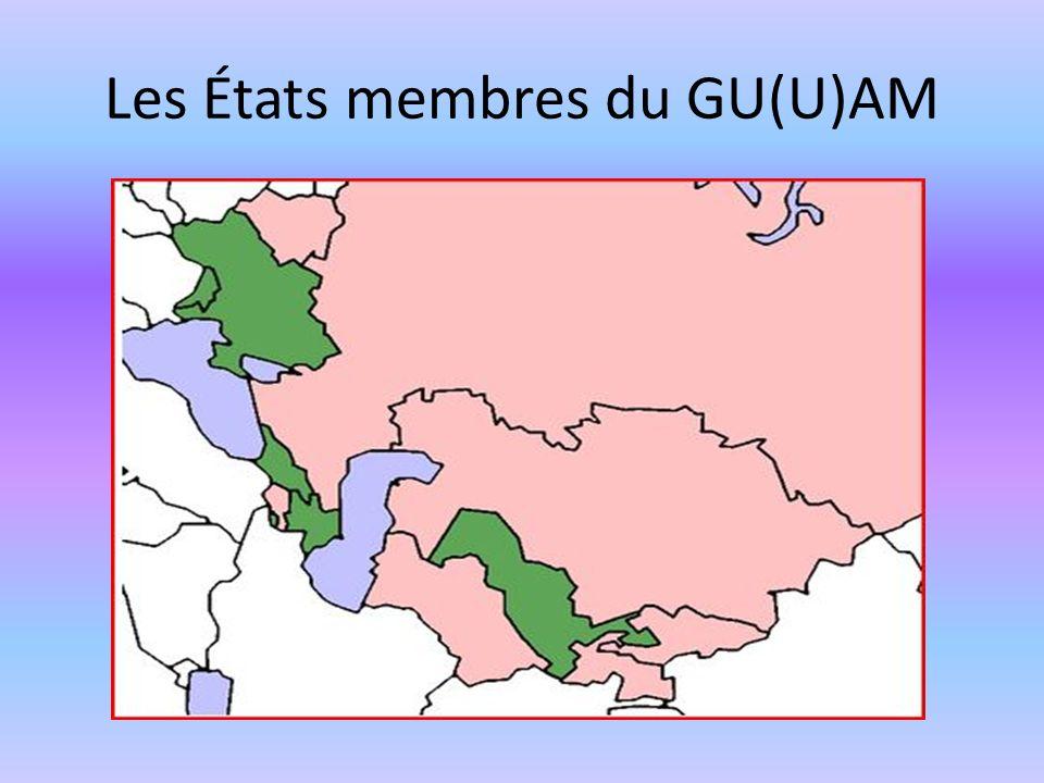Les États membres du GU(U)AM