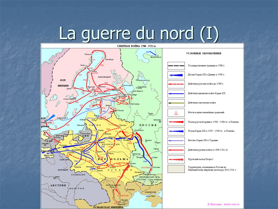 La guerre du nord (I)