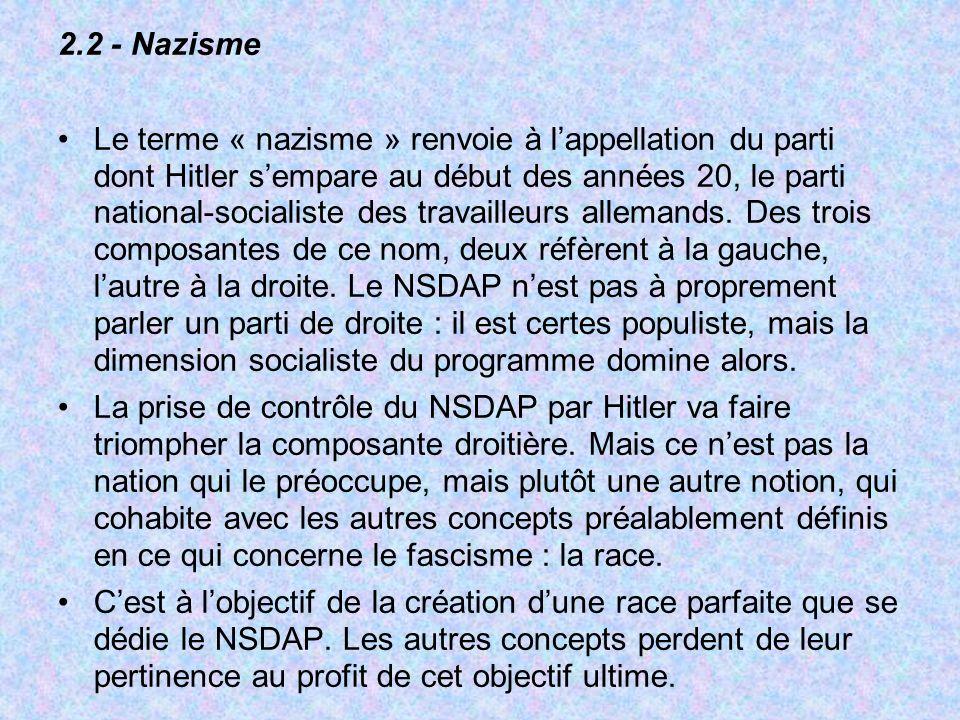 2.2 - Nazisme