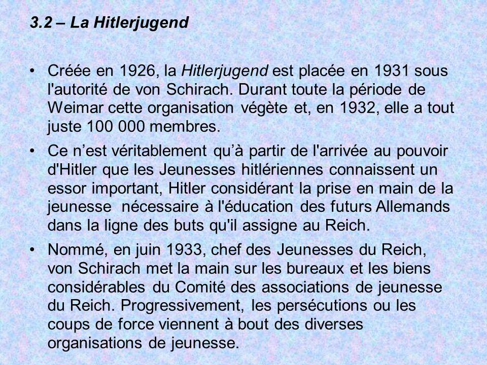 3.2 – La Hitlerjugend