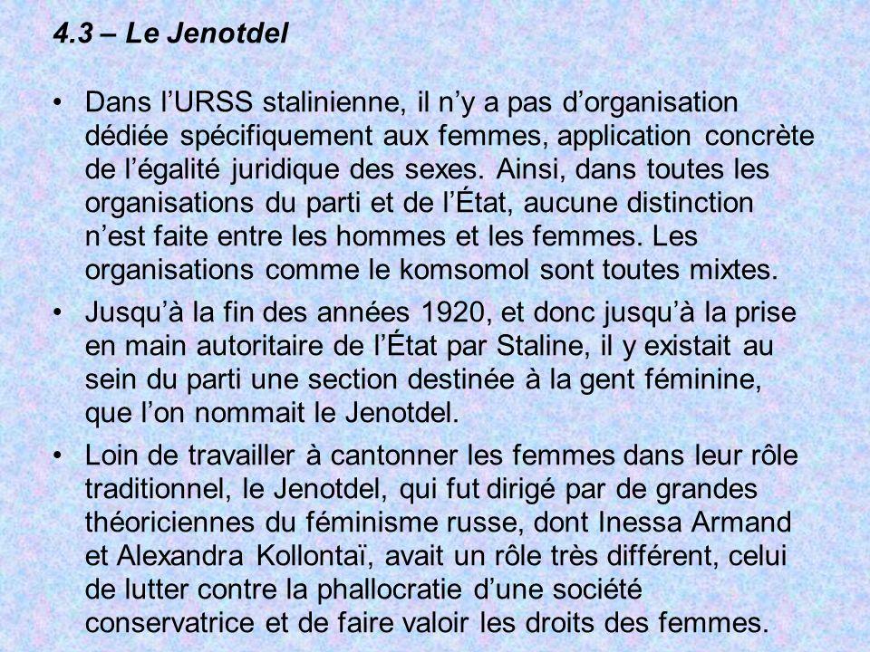 4.3 – Le Jenotdel