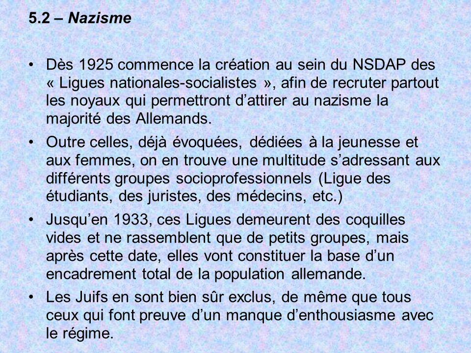 5.2 – Nazisme