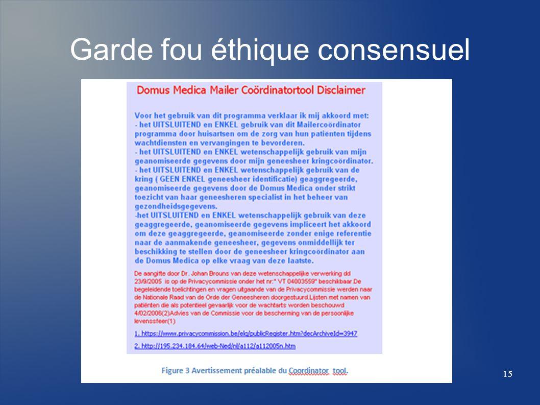 Garde fou éthique consensuel