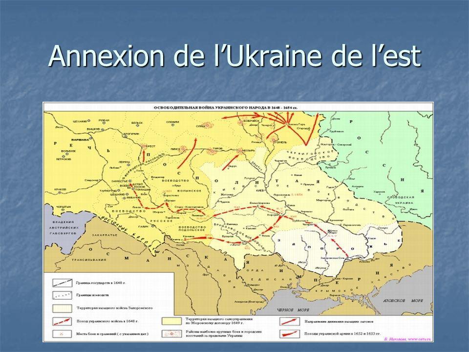 Annexion de l'Ukraine de l'est