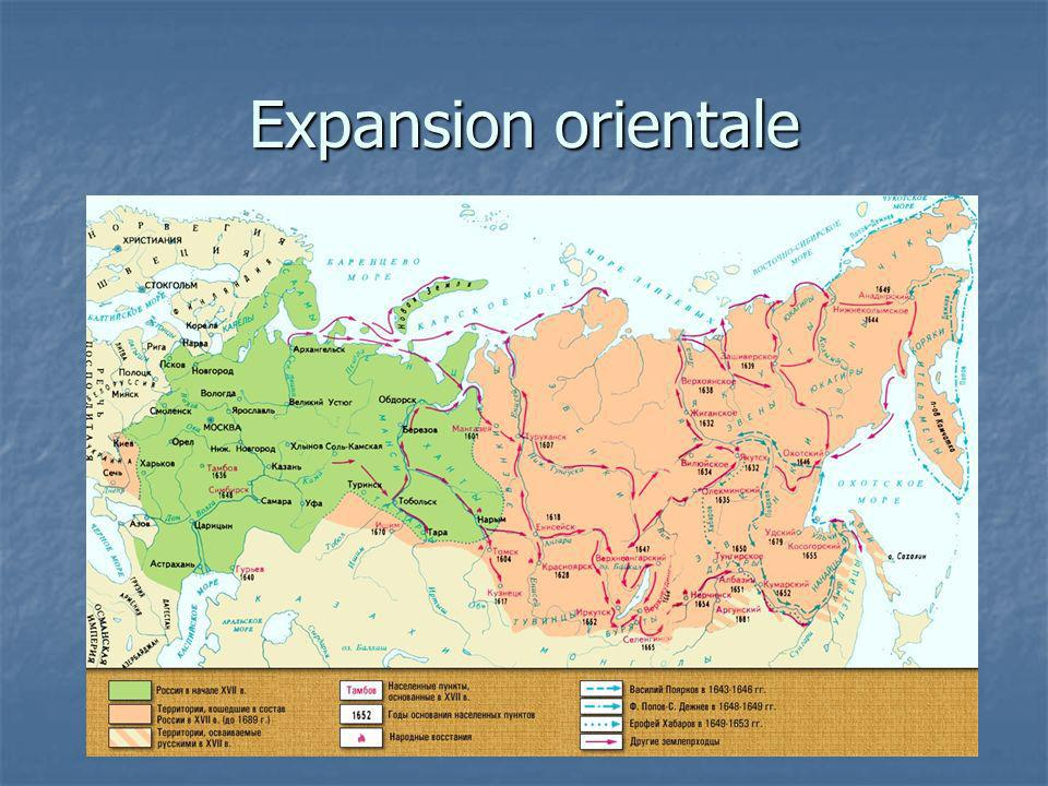 Expansion orientale