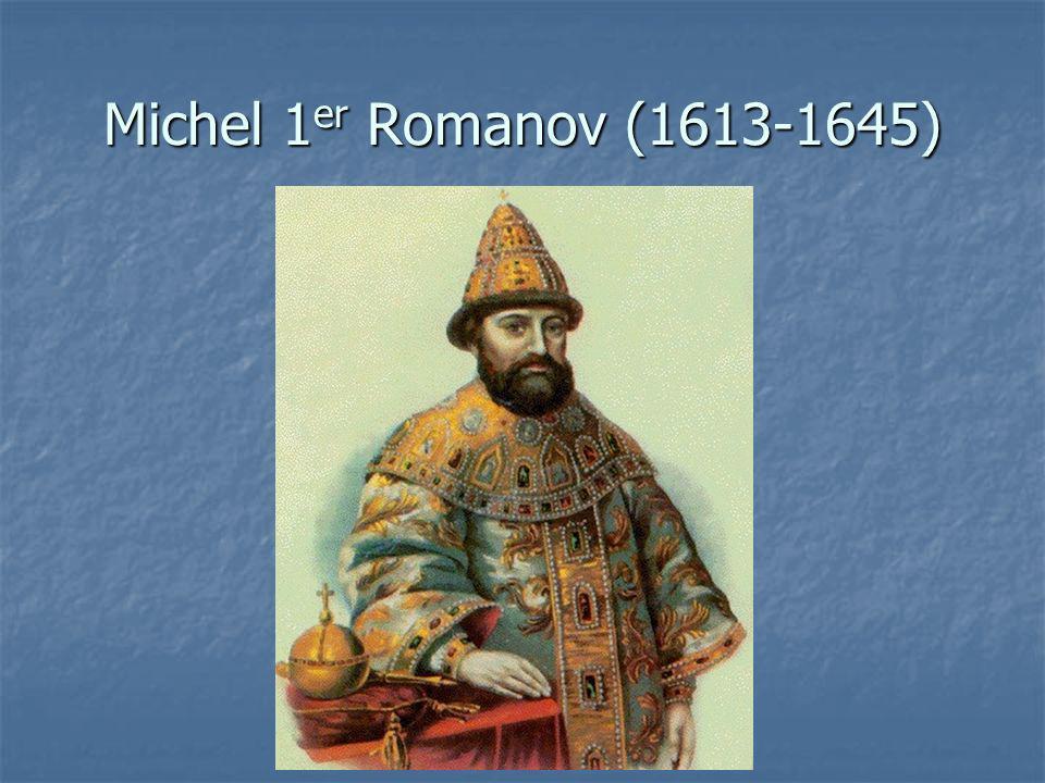 Michel 1er Romanov (1613-1645)