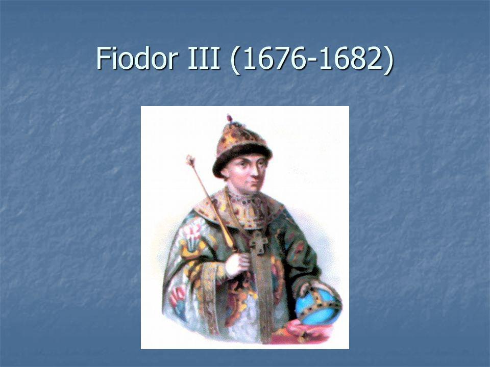 Fiodor III (1676-1682)